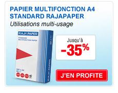 Papier Multifonction A4 Standard Rajapaper
