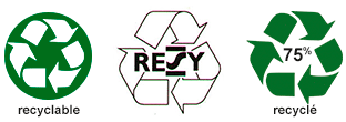 Logo Recyclable - RESY