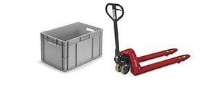 Stockage, manutention et équipement